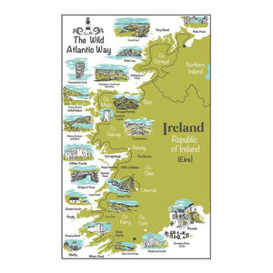 Wild Atlantic Way Tea Towel
