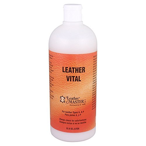 Leather Masters Leather Vital Softener and Revitalizer, 33.8 Ounce by Leather Masters