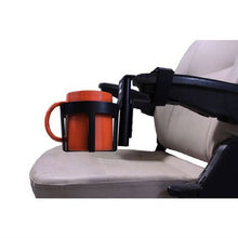 Load image into Gallery viewer, 44 oz. Cup Holder for Power Chair & Power Scooter Armrests