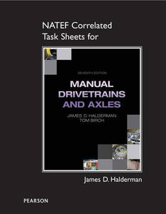 NATEF Correlated Task Sheets for Manual Drivetrain and Axles