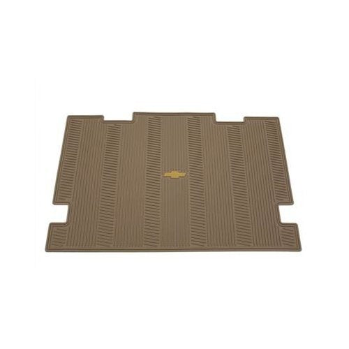 GM # 19166808 Floor Mats - Rear Cargo Area Premium All Weather Set - Cashmere with Chevy Bowtie Logo