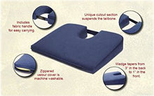Load image into Gallery viewer, EXTRA FIRM Tush Cush Car Computer Airplane Travel Seat Cushion Charcoal