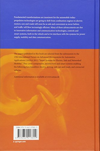 Advanced Microsystems for Automotive Applications 2011: Smart Systems for Electric, Safe and Networked Mobility (VDI-Buch)