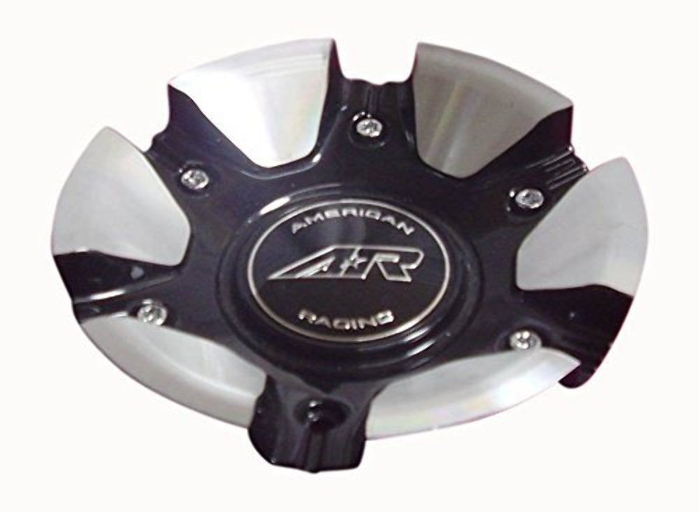 AMERICAN RACING AR894 449L185-BAL 449L185BAL CENTER CAP GLOSS BLACK AND MACHINED
