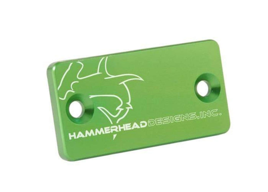 Hammerhead Designs Front Brake Master Cylinder Cap - Compatible with Kawasaki KX series