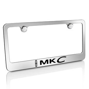 Lincoln MKC Chrome Metal License Plate Frame