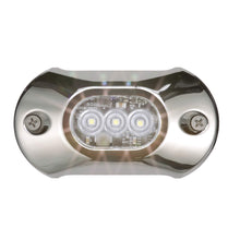 "Load image into Gallery viewer, attwood Corporation 65UW03W-7 Underwater Light Armor 4"" White"