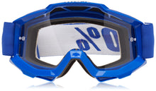 Load image into Gallery viewer, 100% ACCURI Goggles Reflex Blue - Clear Lens, One Size