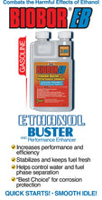 Load image into Gallery viewer, Biobor EB, Ethanol Buster and Performance Enhancer Gasoline Treatment, 1-Gallon