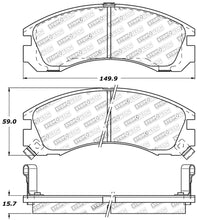 Load image into Gallery viewer, StopTech 309.05300 Street Performance Front Brake Pad