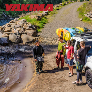 yakima - BigStack Rooftop Mounted Boat Rack for Vehicles, Carries Up to 4 Boats