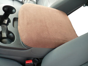 Car Console Covers Plus Made in USA Center Armrest Console Cover fits Dodge Ram 1500 2500 3500 Models 2014-2019 Brown