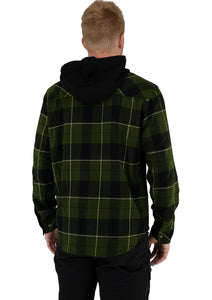 M Timber Hooded Flannel Shirt 21