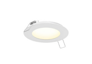 PANEL LIGHT 3 po. - CCT (27K à 50K), 8 W (640 lm), IC RATED & WET LOCATION, 120 Vac