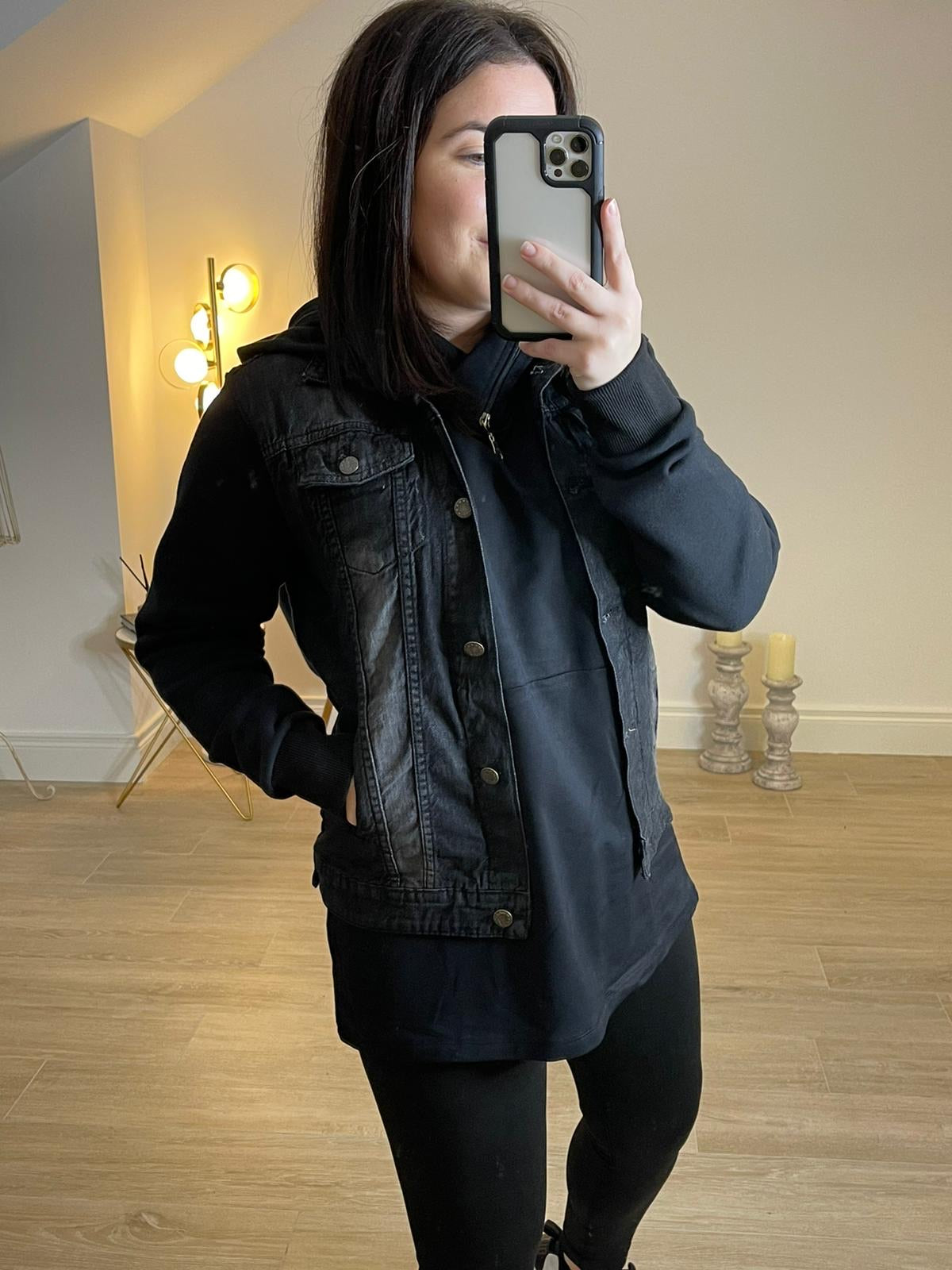 EMILY Hooded Denim Jacket