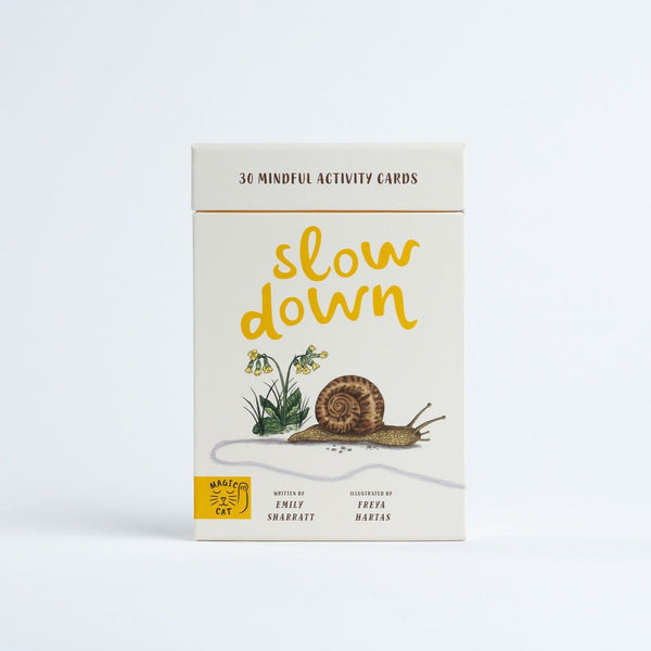Preorder: Slow Down Flashcards