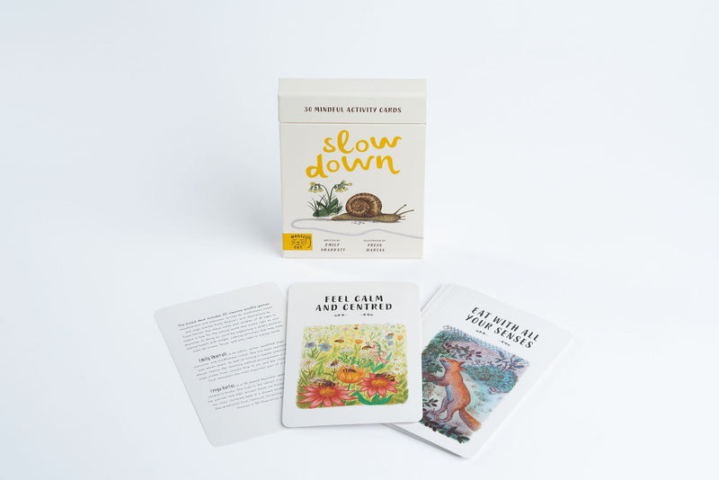 Slow Down Mindful Activity Cards