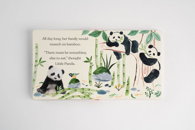 PREORDER Goodnight, Little Panda Board Book