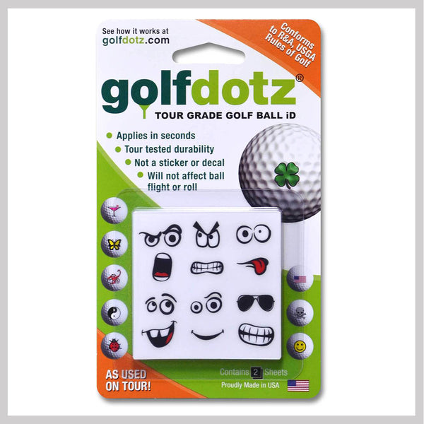 Golfmoji Golfdotz Packaging