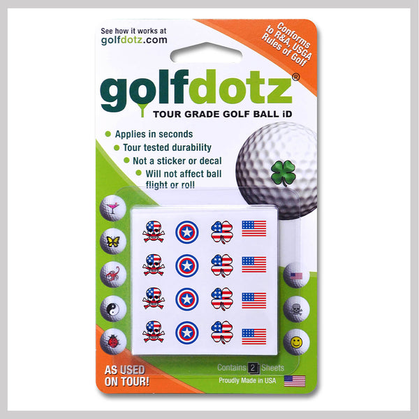 American Foursome Golfdotz Packaging