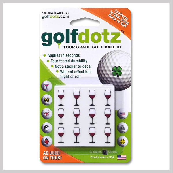 Viva Vino Golfdotz Packaging