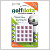 Skullmania USA Golfdotz Packaging