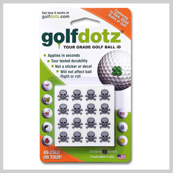 Skullmania Golfdotz Packaging