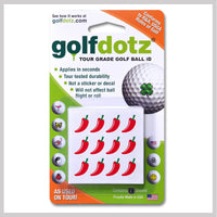 Red Chili Pepper Golfdotz Packaging