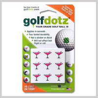Pink Cocktails Golfdotz Packaging