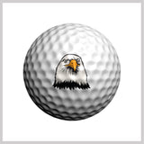 Eagle Golfdotz Design on Golf Ball