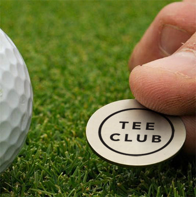 Tee Club Ball Marker