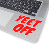 Yeet Off Stickers