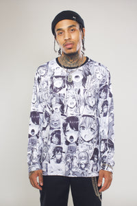 Ahegao Long Sleeve
