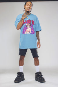 Anime World Oversized Tee