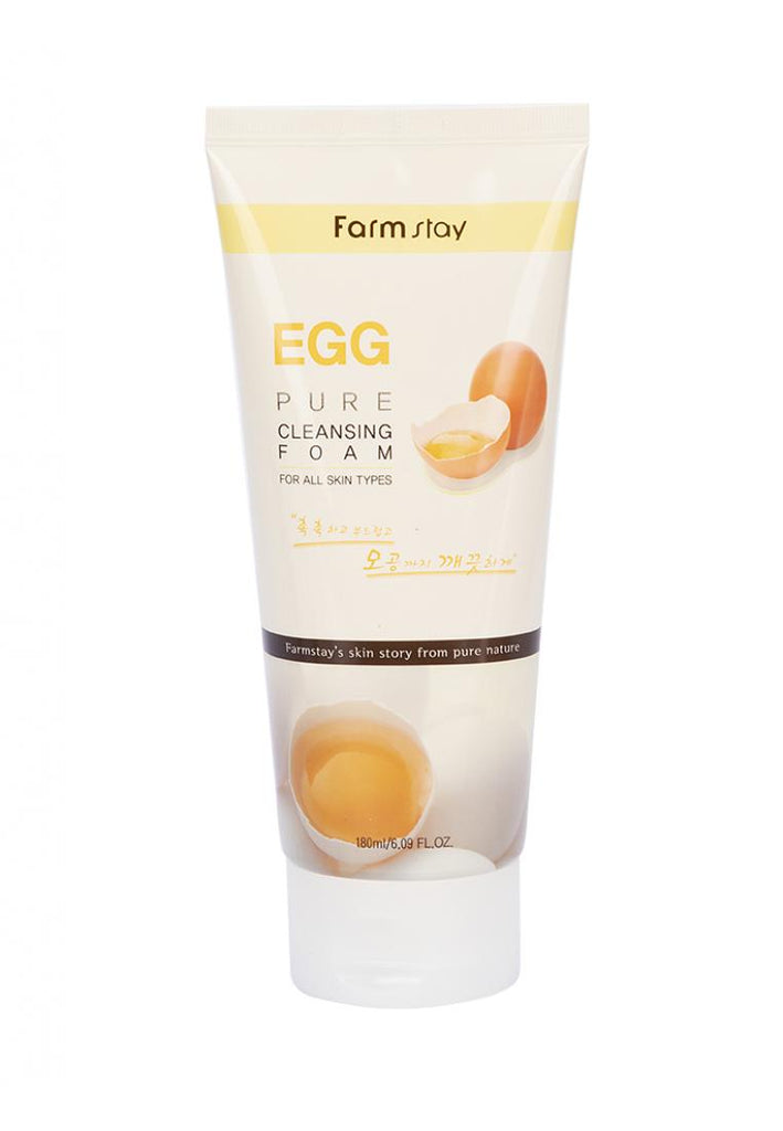Pure Cleansing Foam 180ml   Egg