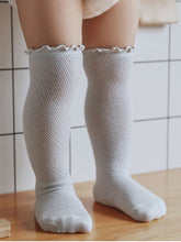 Load image into Gallery viewer, Grey Knee High Socks
