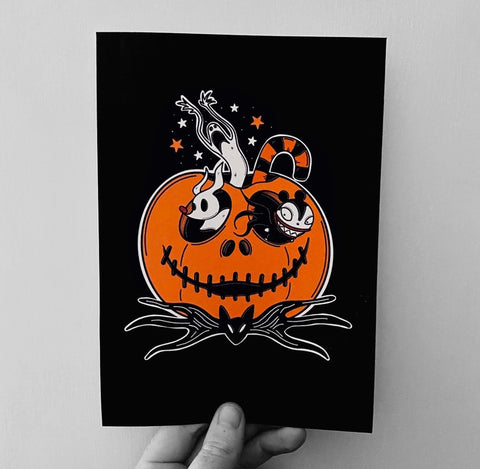 This is Halloween A5 Print