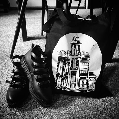 Addams Family Tote Bag