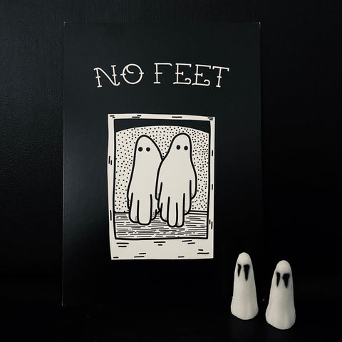 Beetlejuice - No Feet A5 Print
