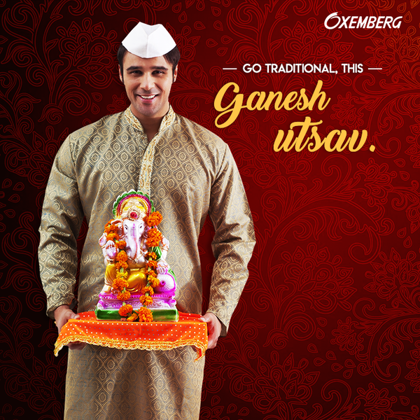 CELEBRATE GANESH CHATURTHI WITH TRADITIONAL OUTFITS