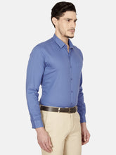 Load image into Gallery viewer, Men's Cotton Slim-fit Dobby Casual Shirt-BP24655FCobalt Blue