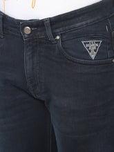 Load image into Gallery viewer, Men's Dark Blue Cotton Stretchable Slim-fit Jeans-DH9226Dark_blue