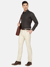 Load image into Gallery viewer, Men's Poly-viscose Super Slim-fit Formal Trousers-F6139BBeige