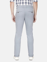 Load image into Gallery viewer, Men's Stretchable Slim-fit Dobby Casual Trousers-H4635BGrey