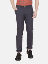 Load image into Gallery viewer, Men's Cotton Slim-fit Casual Trousers-H4648BNavy_Blue