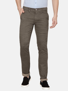 Men's Stretchable Slim-fit Casual Trousers-MJ817Dark Grey