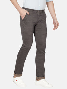 Men's Stretchable Slim-fit Casual Trousers-MJ817Navy Blue