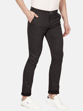 Load image into Gallery viewer, Men's Stretchable Slim-fit Casual Trousers-MJ851Black