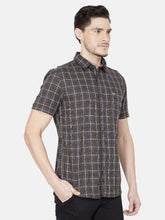 Load image into Gallery viewer, Men's Half-sleeve Slim-fit Casual Shirt-OJN1105HDark_Olive
