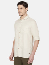 Load image into Gallery viewer, Men's Full-sleeve Slim-fit Casual Shirt-OJN1111FBeige